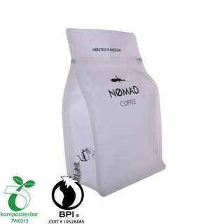 Wholesale Block Bottom Disposable Coffee Packaging Manufacturer in China