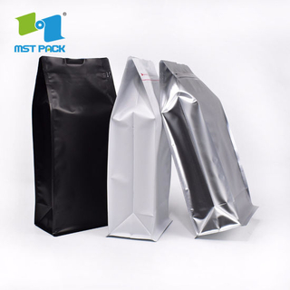 100% Bio Barrier Film Compostable Corn Made Biodegradable Coffee Bag