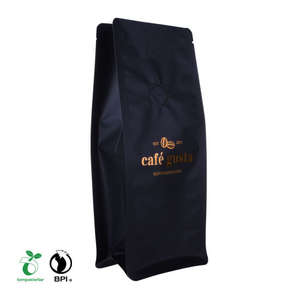Recyclable Block Bottom Coffee Bags Supplier From China