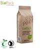 100% Compostable Biodegradable Packaging Standing Up Pouch Bag Company China