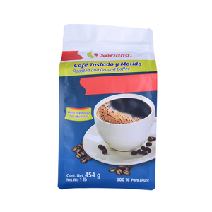 Wholesale Custom Printed Plastic Coffee Packaging Bags with Valve Canada Suppliers
