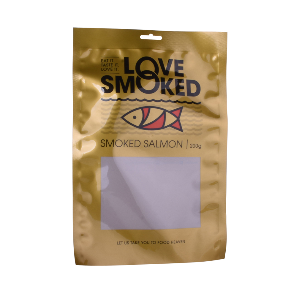 Food-Contact Retort Pouch Vacuum Bag for Smoked Salmon