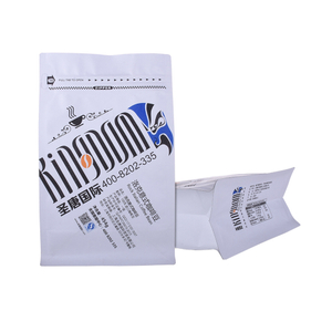Biodegradable Pouch Packaging Coffee Bags With Degassing Valve And Ziplock