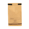 Wholesale Flat And Satchel Kraft Ziplock Zipper Coffee Paper Bag