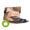 ​Child Resistant Zip Lock Custom Biodegradable Virginia Tobacco Pouch