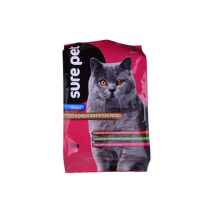 Gusset Recycled Plastic Sealable Zip Bag Flexible Petfood Packing