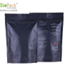 Custom 250g 500g 1kg food ziplock Biodegradable kraft bag with ziplock for coffee/tea from China