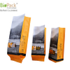 Side gusset custom printed drip coffee bean packaging bag in 100% biodegradable cornstarch from China