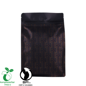 12oz Biodegradable Bags Coffee Package Cafe Pouch