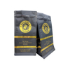Reusable Kraft Coffee Bean Pouch Food Grade Flat Bottom Pouch Zipper Packaging Manufacturer China