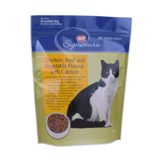 Wholesale Pet Cat Food Pouch Bag with Zipper Recycling in Australia