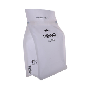1lb 250g Matt Coffee Bag Packaging with Valve