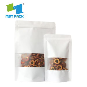 Biodegradable Nuts Kraft Paper Pouch with Zipper