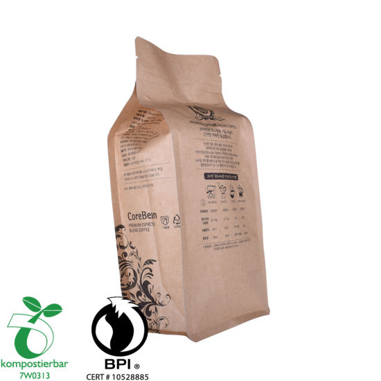 Food Grade Box Bottom 100 Biodegradable Cornstarch Bag Manufacturer From China
