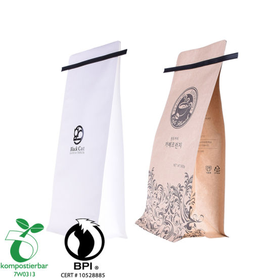 Wholesale Square Bottom China Coffee Packaging Supplier From