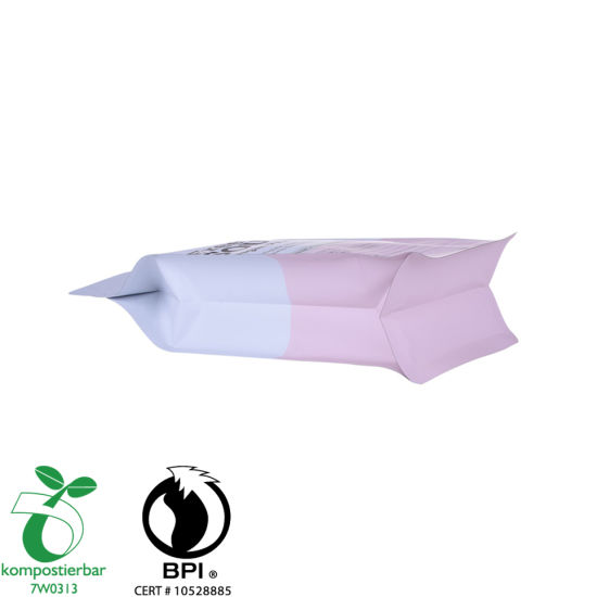 Inventory Foil Lined Block Bottom Bio Food Packaging Supplier in China