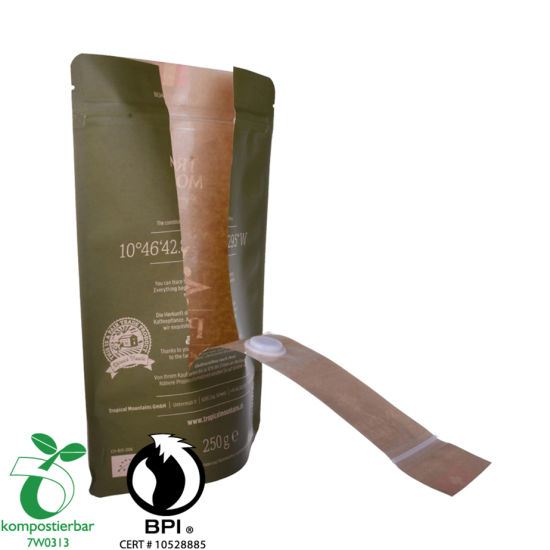 Whey Protein Powder Packaging Doypack Coffee Cup Holder Bag Manufacturer China