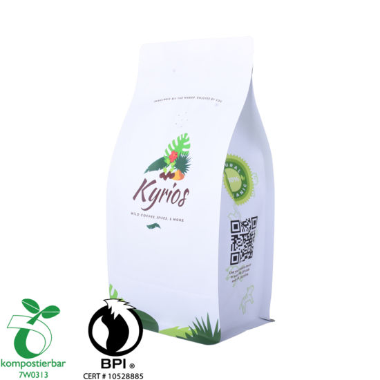 Gravure Printing Colorful Round Bottom Kraft Coffee Bag Manufacturer in China