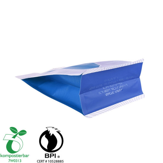 Inventory Foil Lined Block Bottom Plastic Biodegradable Factory China
