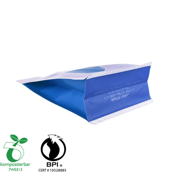 Ziplock Box Bottom Foldable Eco Friendly Bag Wholesale From China