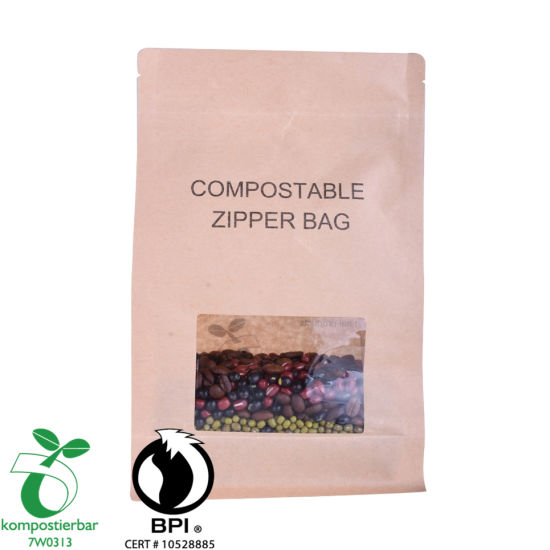 Food Ziplock Block Bottom Eco Friendly Packing Manufacturer in China