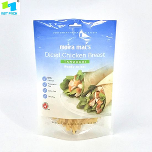 100% Biodegradable Zipper Bag PLA Compostable Pancake Bag