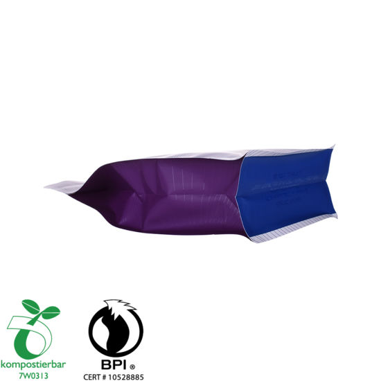 Eco Box Bottom Foil Tea Pouch Manufacturer From China