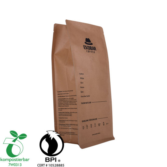 Zipper Box Bottom Eco Friendly Tea Packaging Supplier From China