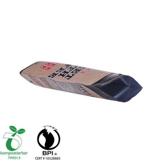 Eco Friendly Kraft Paper Stand up Coffee Bag Supplier From China