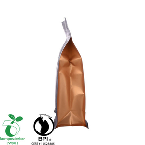 Recyclable Round Bottom Block Coffee Bag Factory China