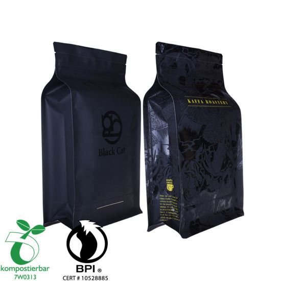 Whey Protein Powder Packaging Flat Bottom Printed Eco Bag Factory in China