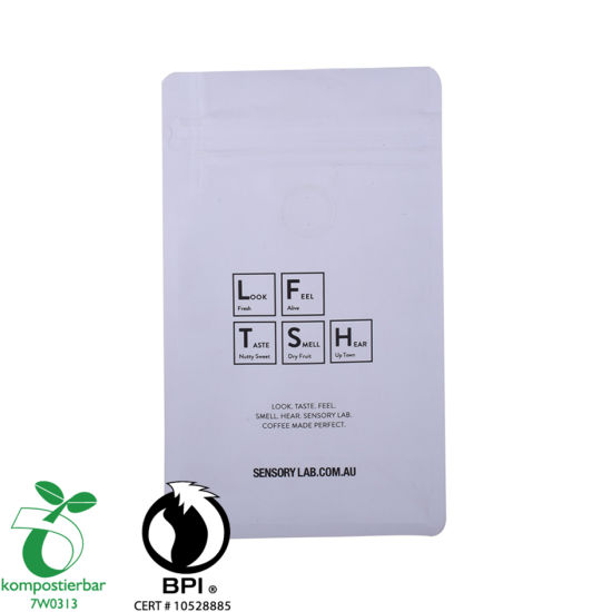 Plastic Zip Lock Compostable Wholesale in Bag Coffee Beans China