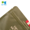 Eco-Friendly Recycle Food Packaging Compostable Paper Resealable Biodegradable Tea Bag with Zipper