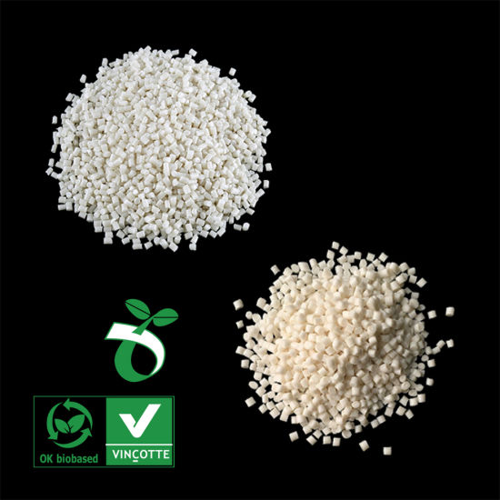 100% Biodegradable and Compostable Transparent Polyester Resin Supplier in China