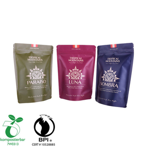 Eco Doypack Tea Sachet Bag Factory From China