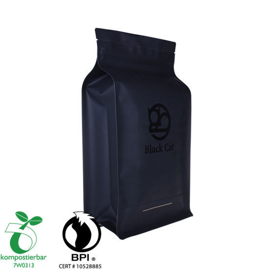 Food Grade Flat Bottom Coffee Packaging Plastic Bag Supplier in China